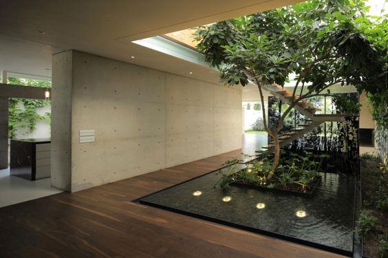 Espelho d 39 gua studiokt for Casa moderna jardin d el menzah